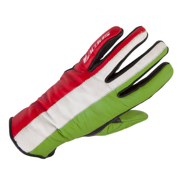 Spada Fifty2 Italia Ladies Gloves - Black/Red/Green/White