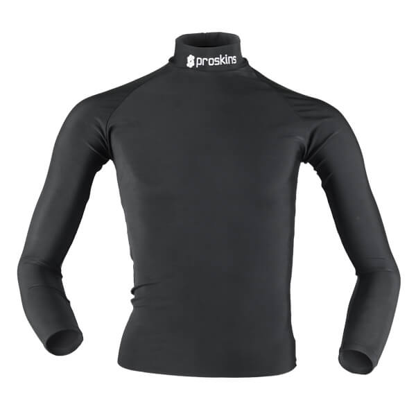Proskins All Season Long Sleeve Top High Neck - Black