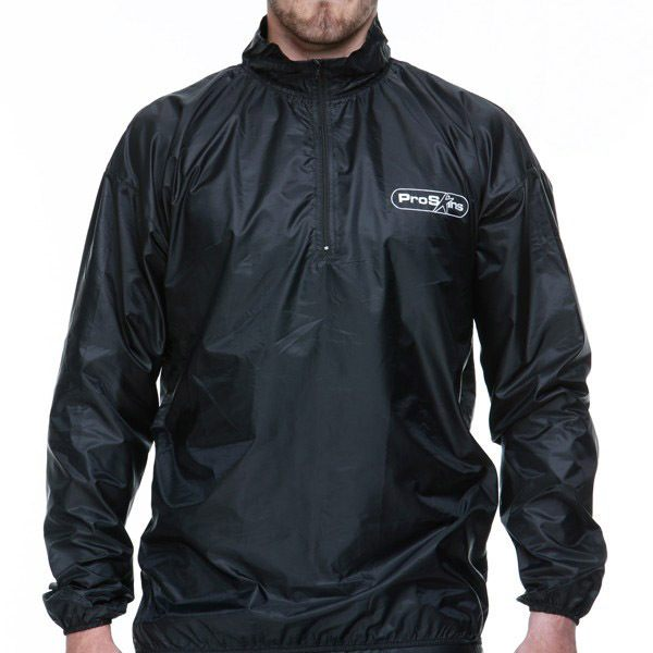 Proskins Windproof Shell Layer Top - Black
