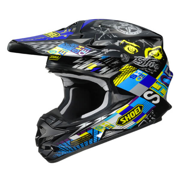 Shoei VFX-W - Krack TC11