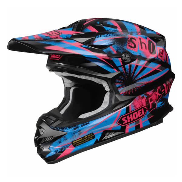 Shoei VFX-W - Dissent TC7 Black/Purple/Blue