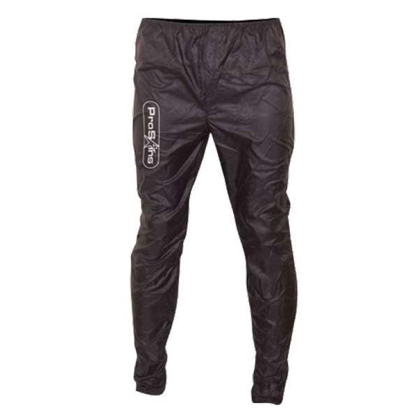 Proskins Windproof Shell Layer Bottoms - Black