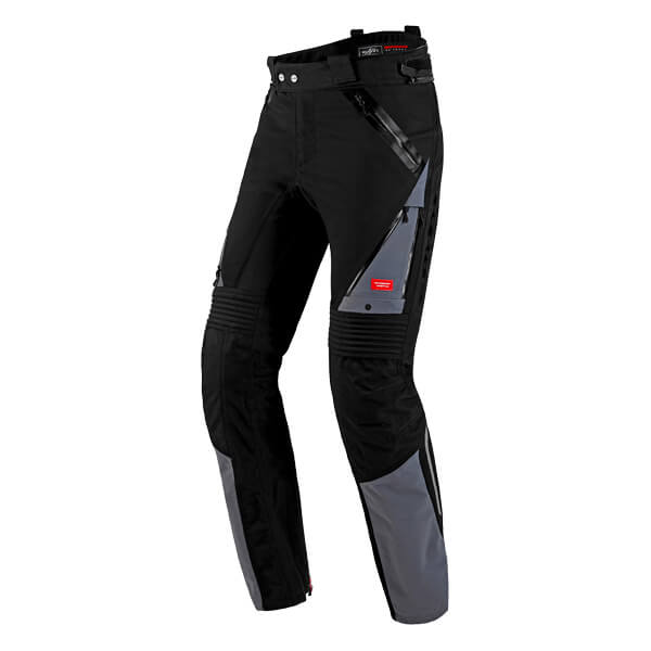 Spidi H2Out Globetracker Trousers - Black/Grey