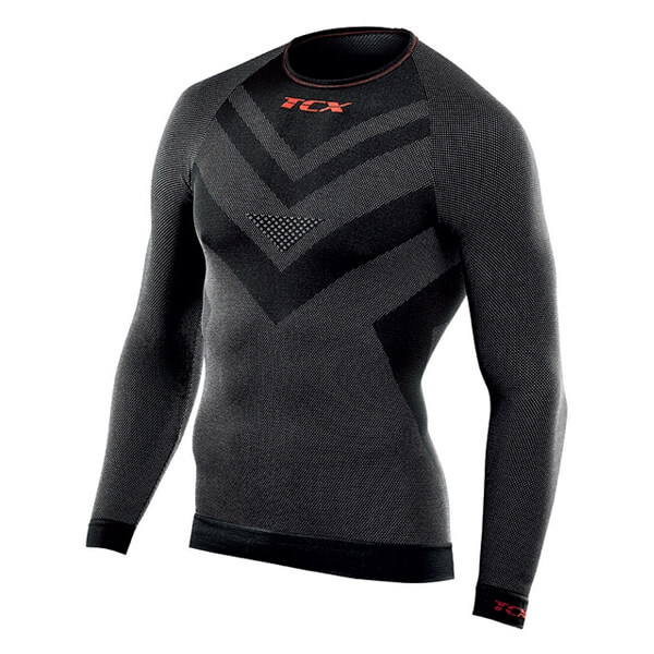 TCX Roundneck Long Sleeve - Black