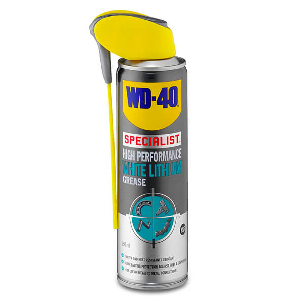 WD-40 White Lithium Grease Spray - 250ml