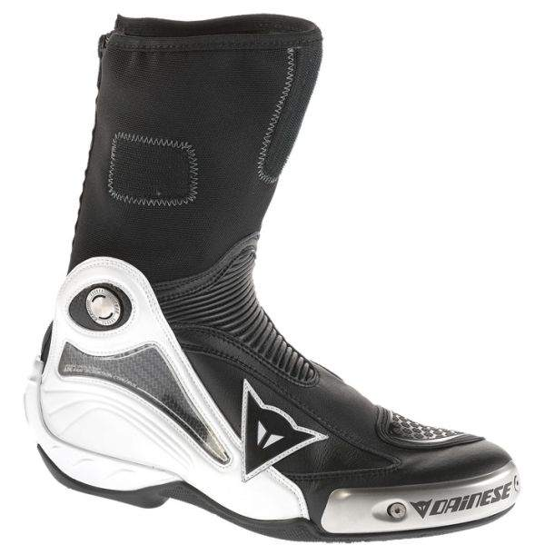 Dainese ST Axial Pro In Boots - Black/White