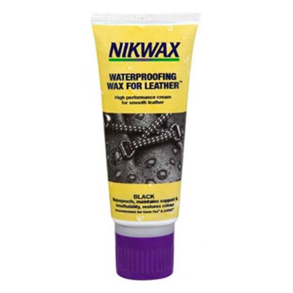 Nikwax Waterproof Wax Leather Black 60ml
