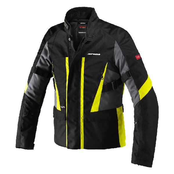 Spidi H2Out Traveler 2 Jacket - Black/Fluo Yellow