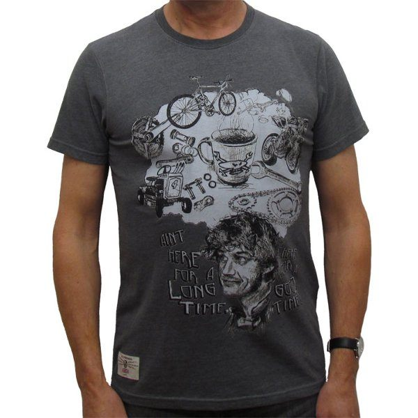 Red Torpedo Good Times T-Shirt Mens - Graphite