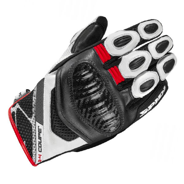 Spidi X4 Coupe CE Gloves - Black/Red