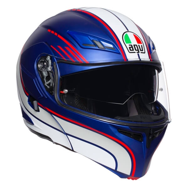 AGV Compact-ST - Boston Blue/White/Red