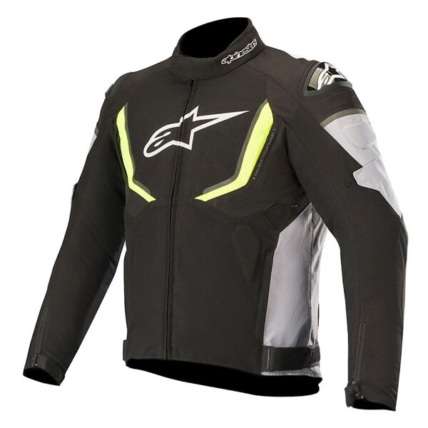 Alpinestars T-GP R V2 Waterproof Jacket Black/Grey/Fluo Yellow