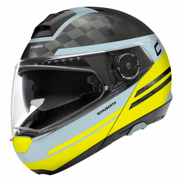 Schuberth C4 Pro Carbon - Tempest Yellow