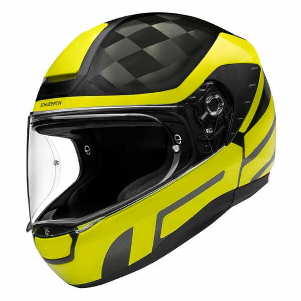 Schuberth R2 Carbon - Cubature Yellow
