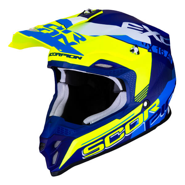 Scorpion VX-16 Air - Arhus Blue/Yellow