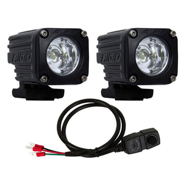 Rigid Ignite Bike Kit Flood Lights - High 2000/Low 400 lm