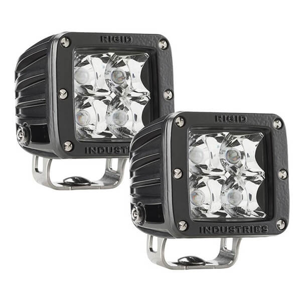 Rigid Dually E-marked Spot Lights - 1568 lm