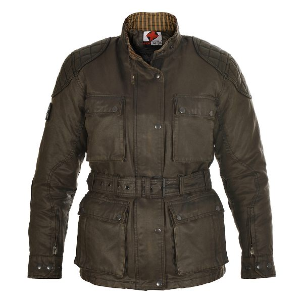 Oxford Heritage Wax Jacket Ladies - Olive