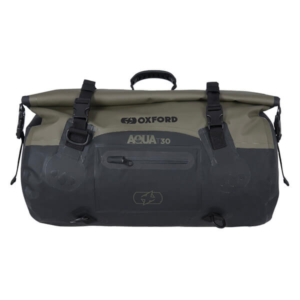 Oxford Aqua T-30 Roll Bag - Khaki/Black
