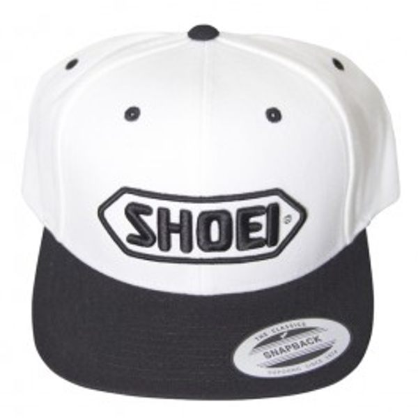 Shoei Baseball Hat - White/Black