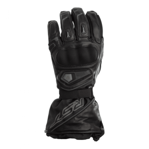 RST Paragon Heated 2260 CE Waterproof Gloves - Black/Black