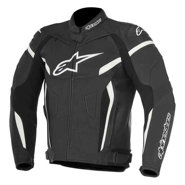 Alpinestars GP Plus R V2 Leather Jacket - Black/White