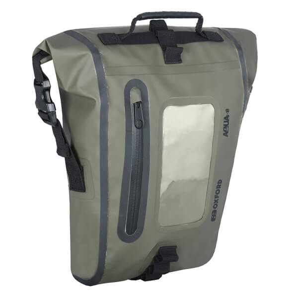 Oxford Aqua M8 Tank Bag - Khaki/Black