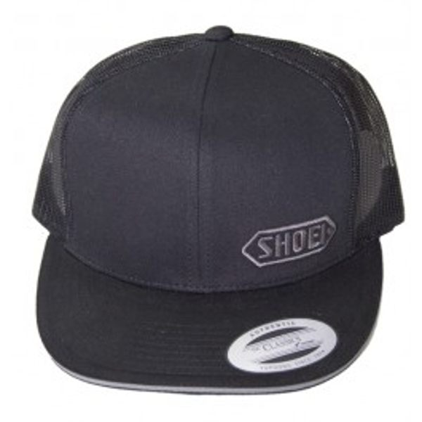 Shoei Trucker-Black w/Grey Logo