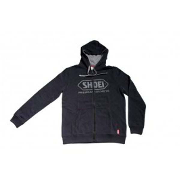 Shoei Zipped Hoodie - Black