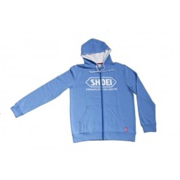 Shoei Zipped Hoodie - Blue