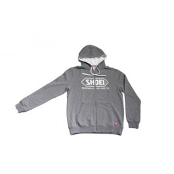 Shoei Zipped Hoodie - Grey