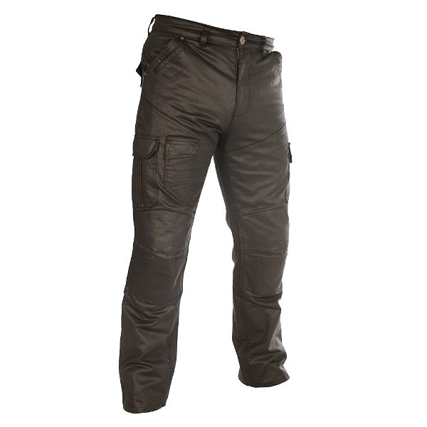 Oxford Aramid SP-J6 Wax Cargo Pants - Black