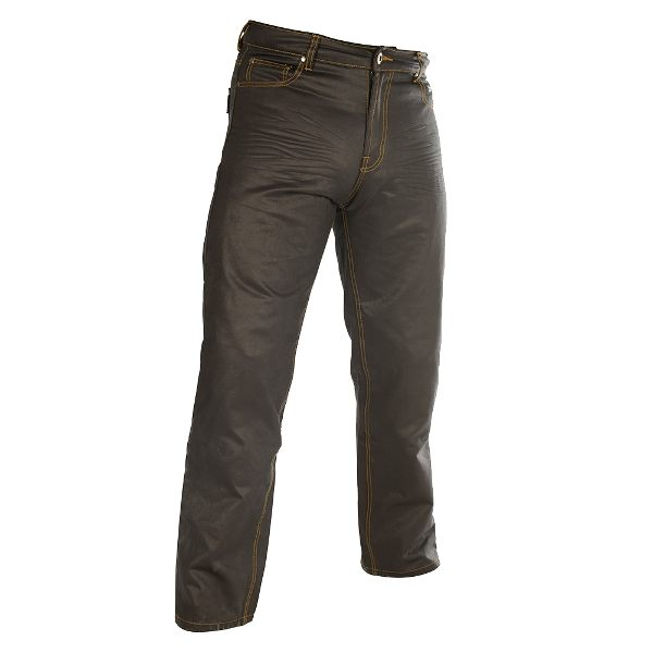 Oxford Aramid SP-J7 Wax Jeans - Black