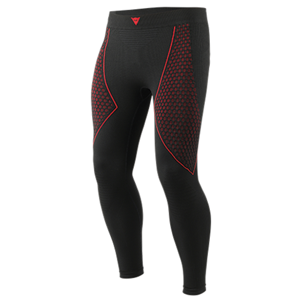Dainese D-Core Thermo Long John Base Layer Bottoms - Black/Red