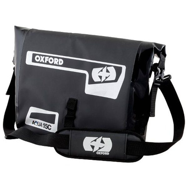 Oxford Aqua 15c Laptop Bag - Black