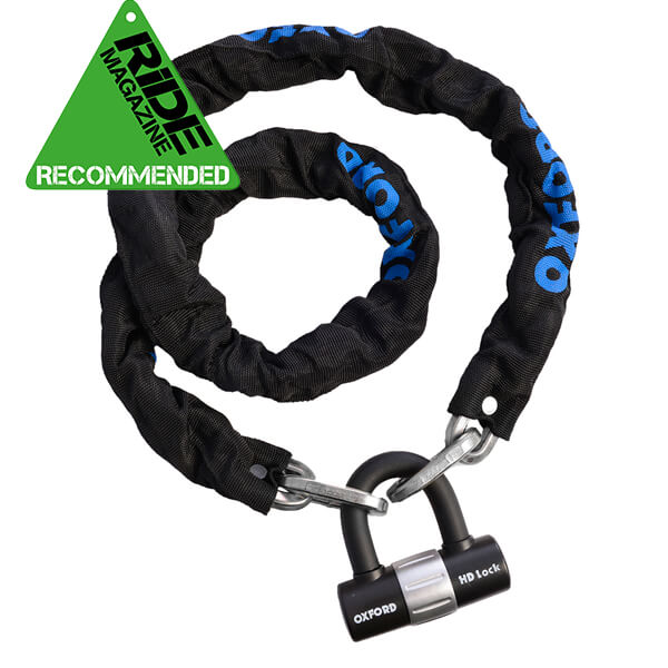 Oxford HD Chain & Lock 1.5m