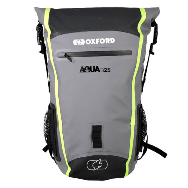 Oxford Aqua B-25 Hydro Backpack - Black/Grey/Fluo