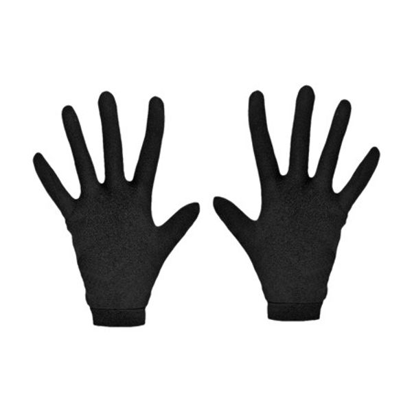 Racer Silk Inner Gloves - Black