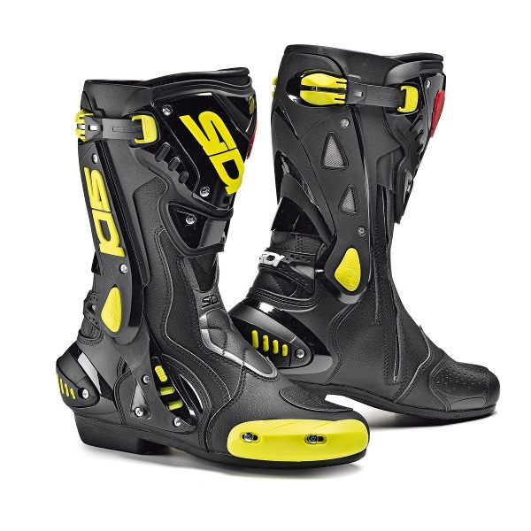 Sidi ST Boots - Black/Yellow