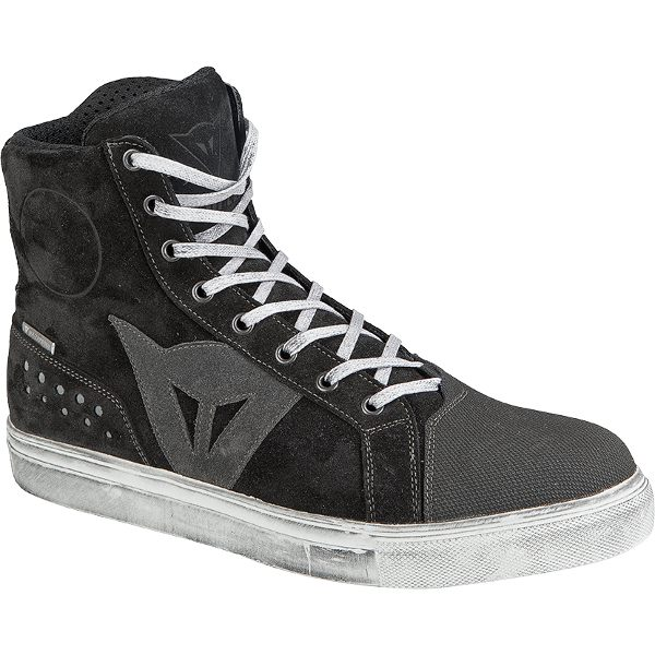 Dainese Street Biker D-WP Shoes - Black/Anthracite