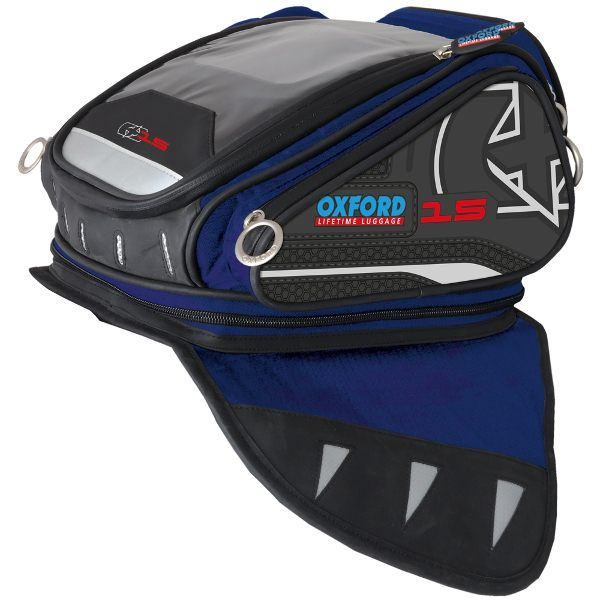Oxford X15 QR Tankbag - Blue