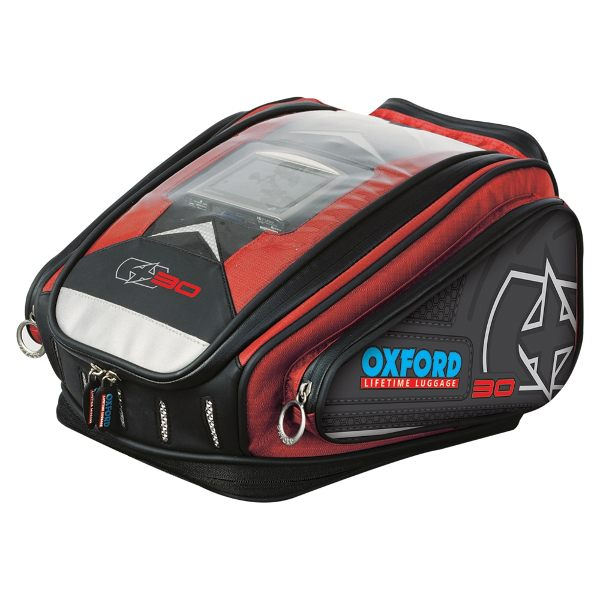 Oxford X30 QR Tankbag - Red