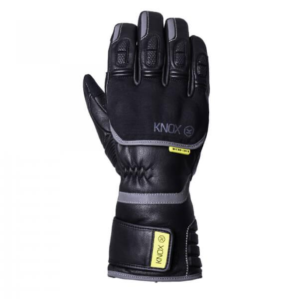 Black Knox Hand Armour Zero 3 Motorcycle Gloves