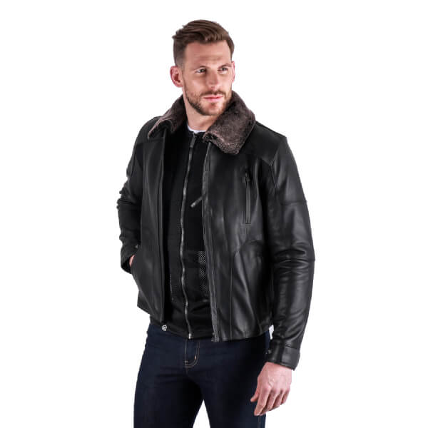 Knox Ford Leather Mens Jacket
