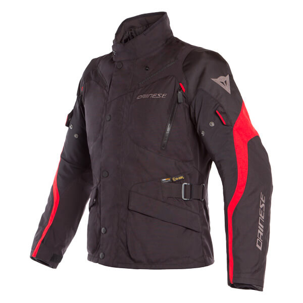 Dainese Tempest 2 D-Dry Jacket - Black/Tour Red