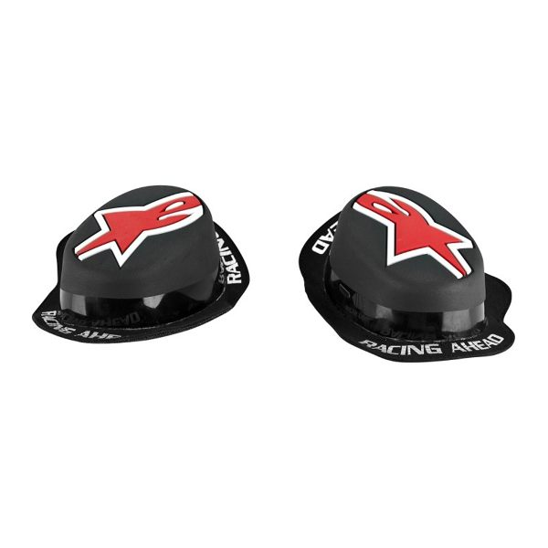 Alpinestars GP Rain Knee Slider - Black/Red