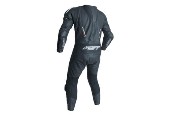 RST tractech evo 3 leather suit back
