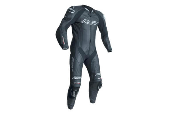 RST tractech evo 3 leather suit front