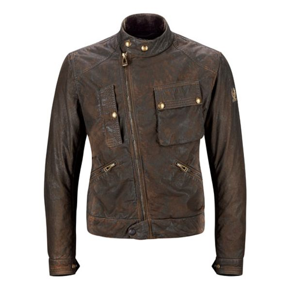 Belstaff Imperial Wax Jacket - Dark Brown