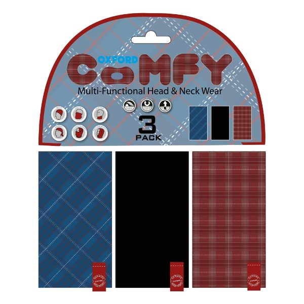 Oxford Comfy 3 Pack - Plaid